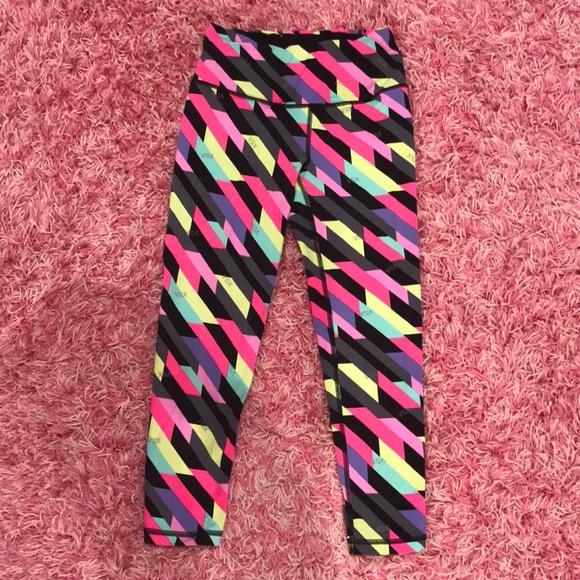 6a9c00a98b3bc Victoria Secret Sport Capris Multi Colored Legging